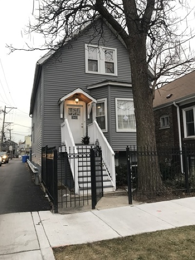 Chicago Single Family Home New: 3943 North Whipple Street