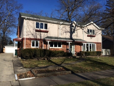 Wilmette Single Family Home Price Change: 3534 Forest Avenue
