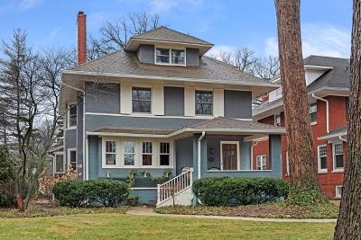 Wilmette Single Family Home For Sale: 919 Ashland Avenue