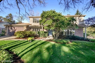 Glenview Single Family Home For Sale: 3900 Rugen Road