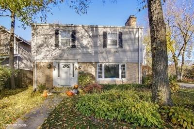 Highland Park Single Family Home For Sale: 1207 Glencoe Avenue