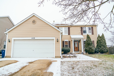Elgin Single Family Home Re-Activated: 1428 Knotty Pine Drive