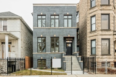 Chicago Single Family Home New: 4621 South Champlain Avenue