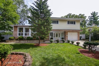 Glenview Single Family Home For Sale: 643 Clearview Drive