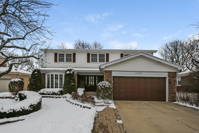 Cook County Single Family Home New: 2735 North Harvard Avenue