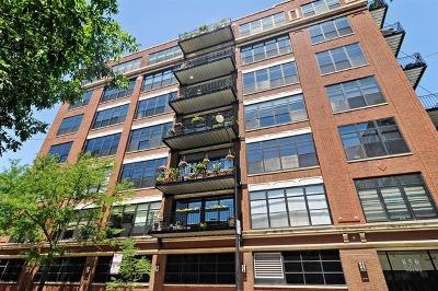 Condo/Townhouse For Sale: 850 West Adams Street #6C
