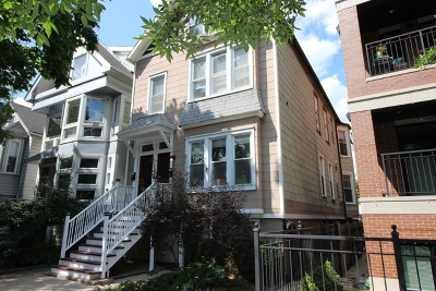 Chicago Multi Family Home New: 1216 West Barry Avenue