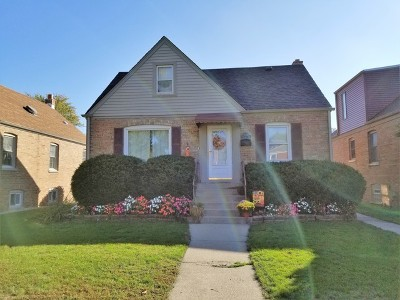 Evergreen Park Single Family Home New: 10053 South Trumbull Avenue