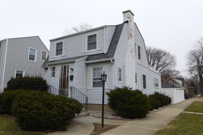 Evergreen Park Single Family Home New: 9615 South Troy Avenue