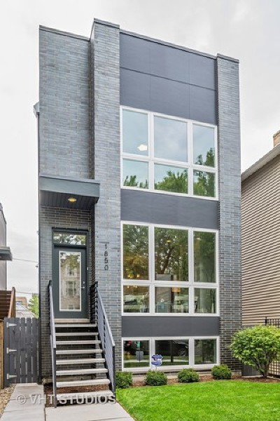 Chicago Single Family Home New: 828 North Mozart Street