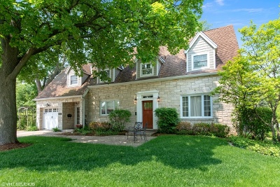 Glenview Single Family Home For Sale: 816 Windsor Road