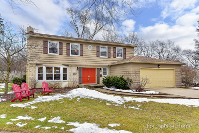 Glen Ellyn Single Family Home For Sale: 41 Dorset Court