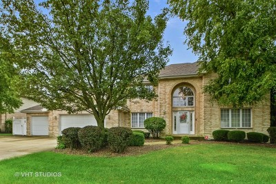 Orland Park Single Family Home For Sale: 10647 White Tail Run