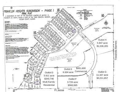 Bloomington Residential Lots & Land For Sale: 417 Towanda Barnes