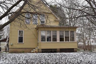 Normal Single Family Home For Sale: 100 East Poplar Street