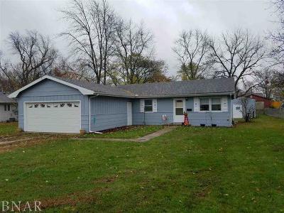 Leroy Single Family Home For Sale: 602 West Washington Street