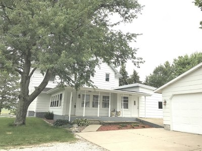LeRoy Single Family Home For Sale: 26084e 900north Road