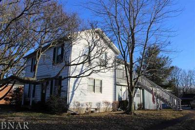 Normal Single Family Home For Sale: 101 East Irving