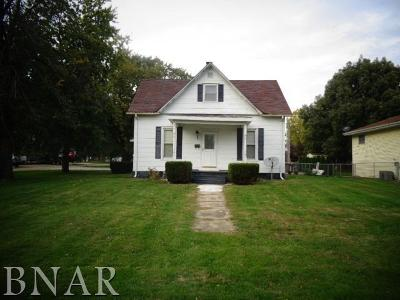 Leroy Single Family Home For Sale: 311 West Green