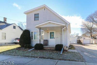 Bloomington Single Family Home For Sale: 707 East Miller Street