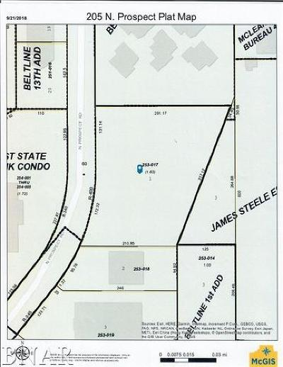 Bloomington Residential Lots & Land For Sale: 205 North Prospect