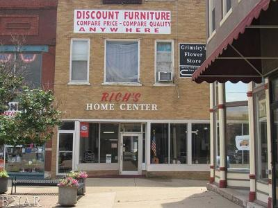 Clinton IL Commercial For Sale: $150,000
