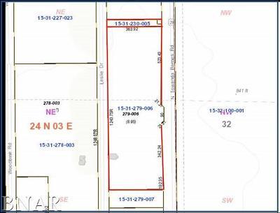 Bloomington Residential Lots & Land For Sale: Towanda Barnes/Leslie Drive