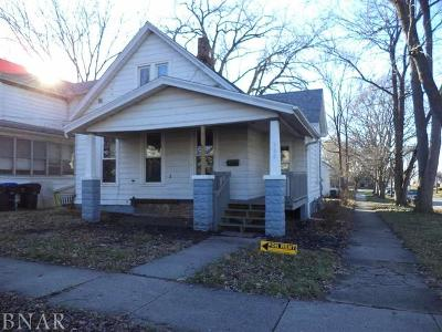 Bloomington Single Family Home For Sale: 920 North Oak