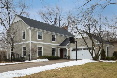 Hinsdale Single Family Home Price Change: 901 South Bruner Street