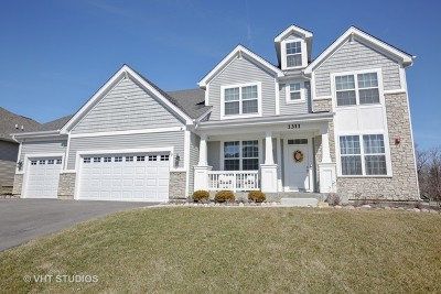 West Dundee Single Family Home For Sale: 1311 Karen Drive