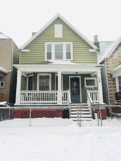 Cook County Single Family Home Re-Activated: 6530 South Sangamon Street