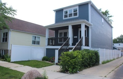 Chicago Single Family Home New: 11114 South Whipple Street