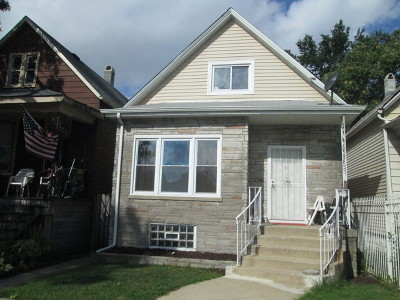 Chicago IL Single Family Home New: $95,000