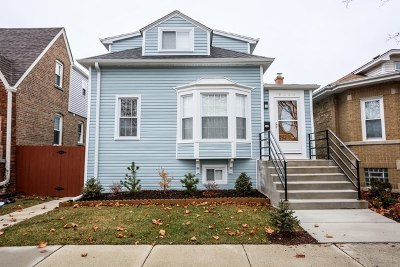Chicago Single Family Home New: 6220 West Henderson Street