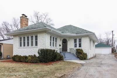 West Chicago  Single Family Home For Sale: 227 North Oak Street