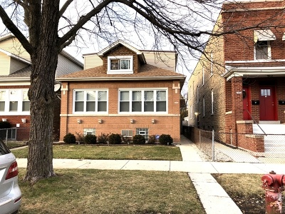 Chicago Single Family Home New: 5026 West Patterson Avenue
