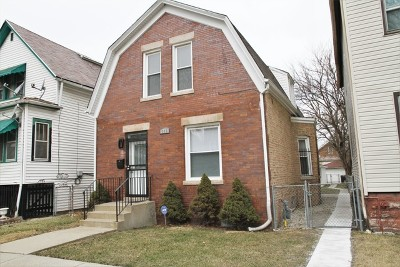 Chicago IL Single Family Home New: $210,000