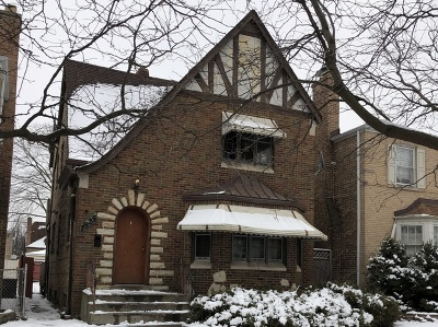 Chicago Single Family Home New: 1825 North Rutherford Avenue