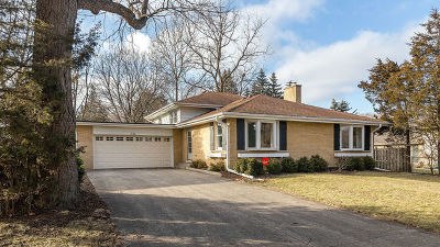 Palatine Single Family Home For Sale: 336 North Wilshire Court
