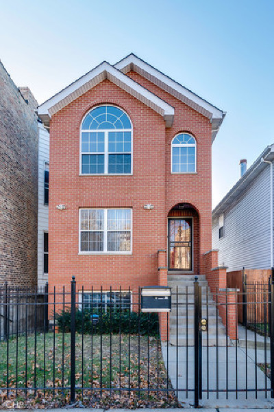 Chicago Single Family Home New: 2735 West Adams Street