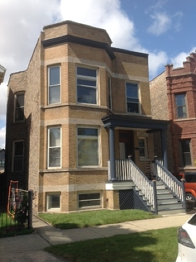 Chicago Multi Family Home New: 2428 North Rockwell Street