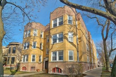 Condo/Townhouse For Sale: 3235 North Oakley Avenue #1S