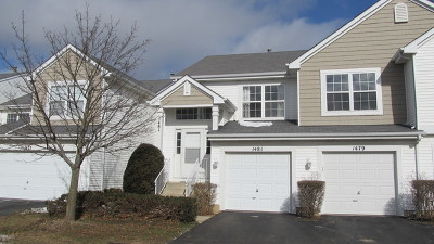 Carpentersville Condo/Townhouse New: 1481 Meadowsedge Lane #1481