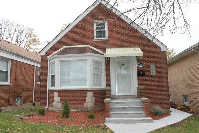 Chicago Single Family Home New: 2305 West 103rd Street