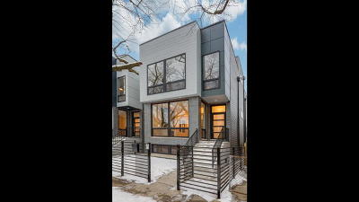 Chicago Single Family Home New: 1638 North Mozart Street