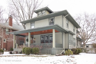 Hinsdale Single Family Home New: 11 North Vine Street
