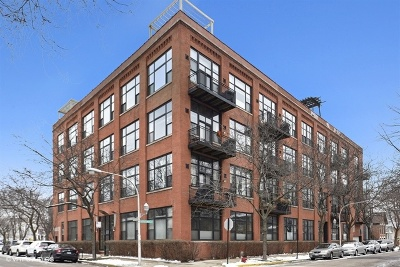Chicago Condo/Townhouse New: 1259 North Wood Street #205