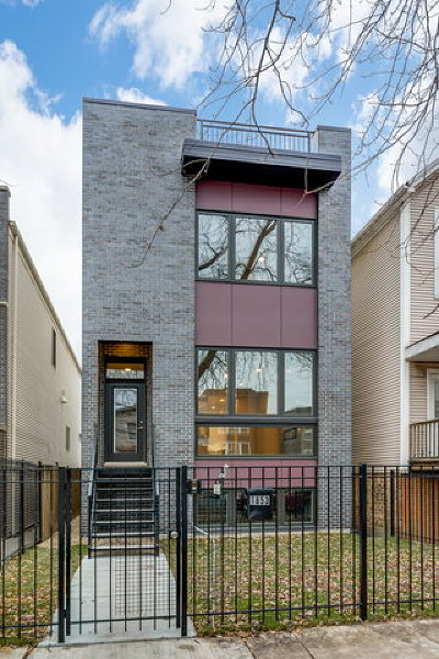 Chicago Single Family Home New: 1853 North Fairfield Avenue