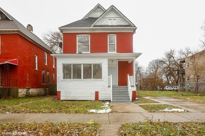 Chicago Single Family Home New: 7416 South Normal Avenue