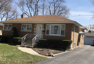 South Holland IL Single Family Home For Sale: $160,000